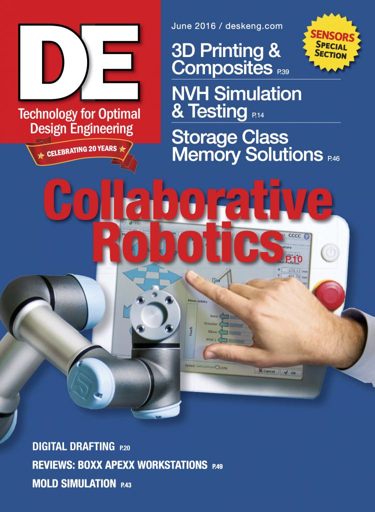 Desktop Engineering June 2016 COVER