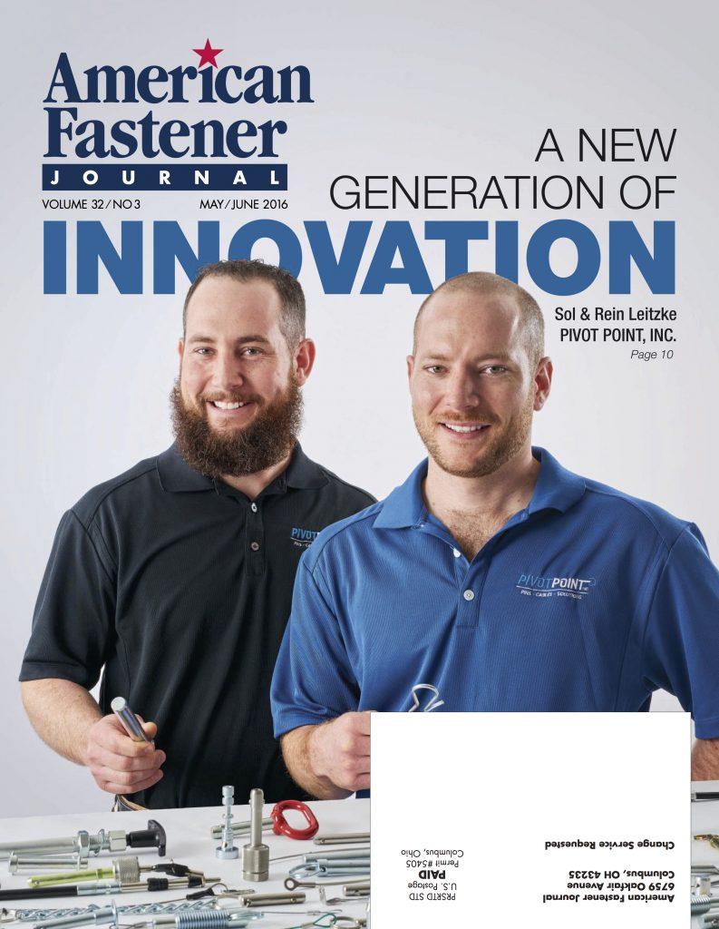 American Fastener Journal May June 2016