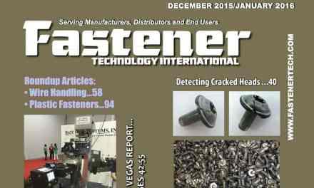 Fastener Technology International,December 2015 / January2016