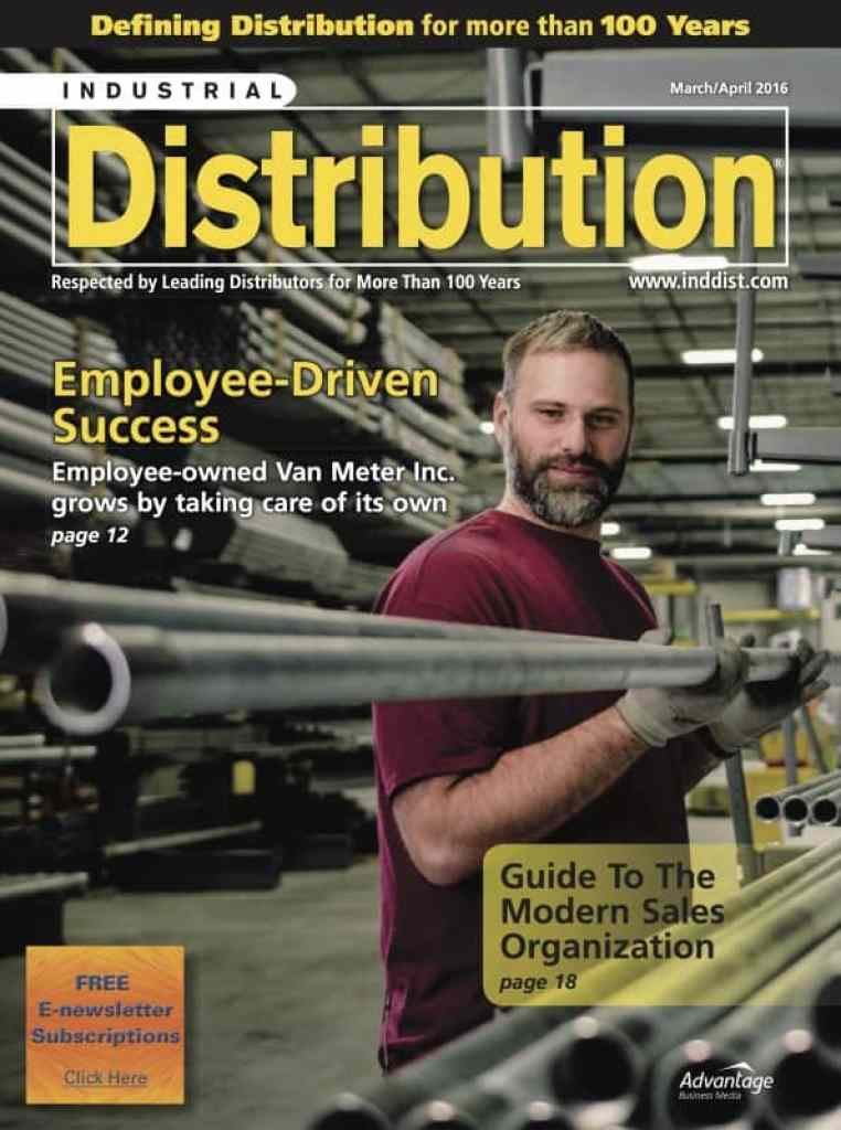 Industrial DistributionMarch April2016 COVER