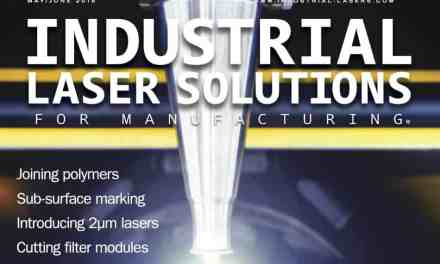 Industrial Laser Solutions for Manufacturing, May/June 2016