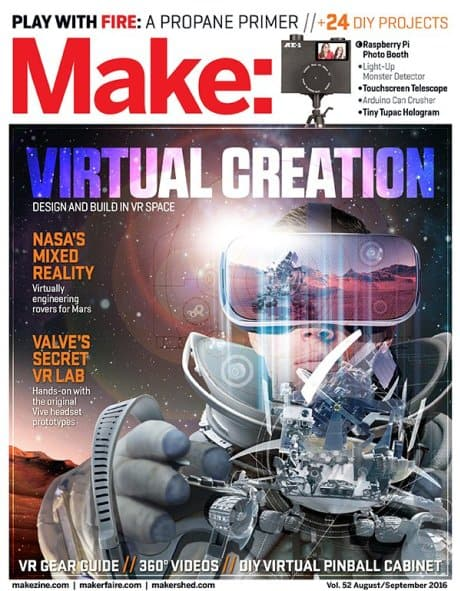 Make Magazine August September 2016