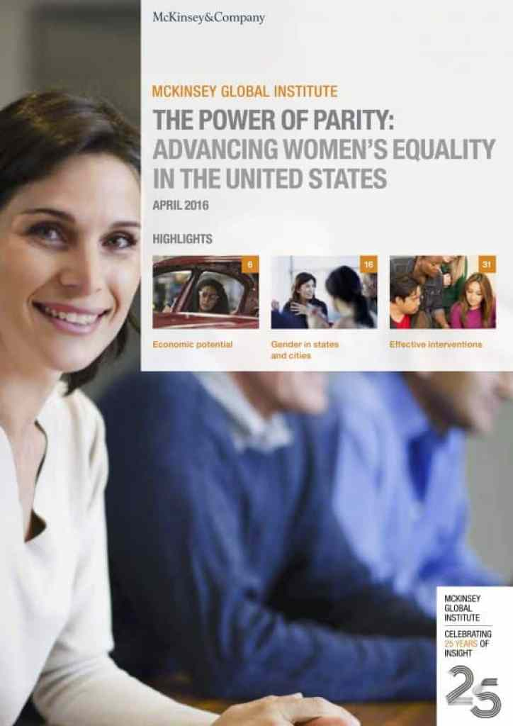 The Power of Parity: Advancing Women's Equality in the United States