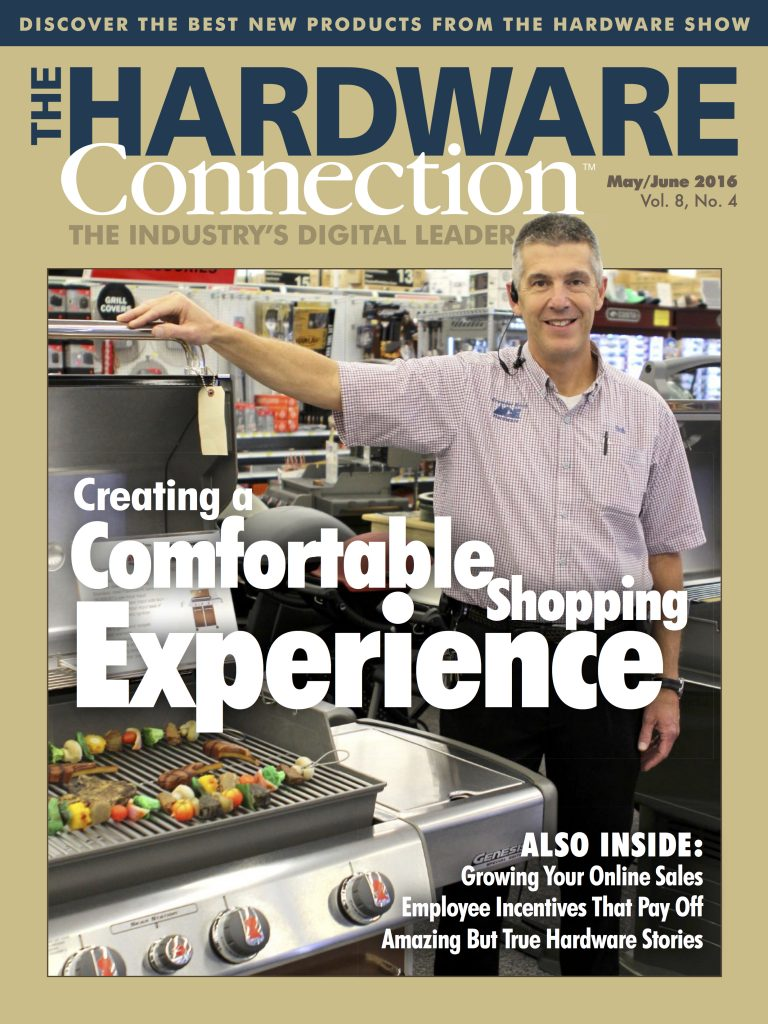 The Hardware Connection May June 2016 COVER