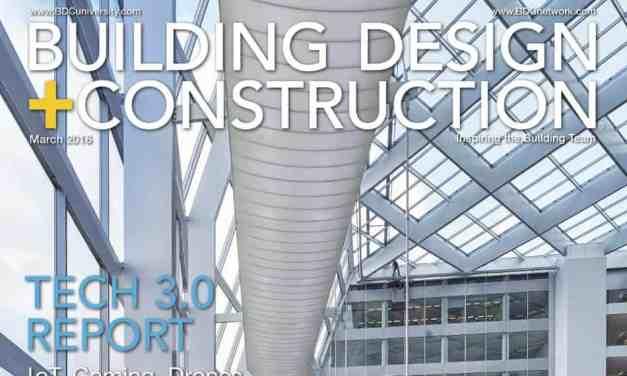 Building Design + Construction, March 2016