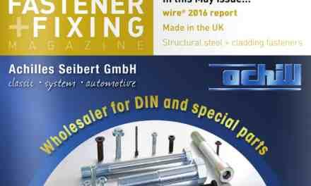 Fastener + Fixing Magazine, May 2016