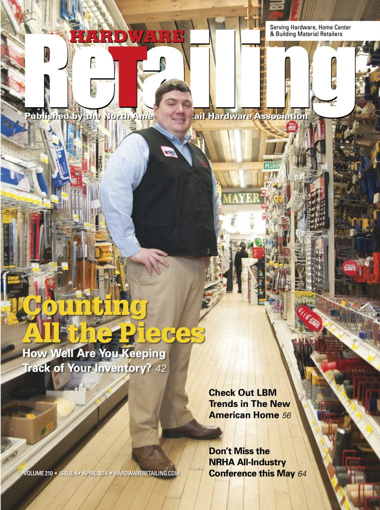 hardware retailing april 2016 cover
