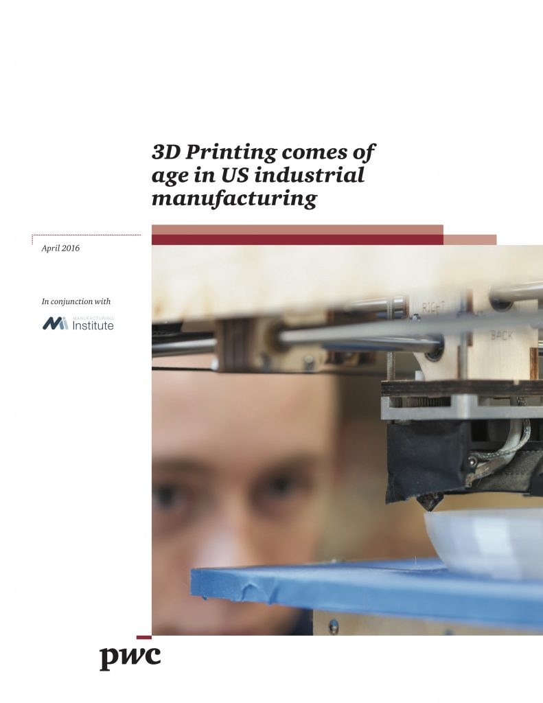 3D Printing Comes of Age in US Industrial Manufacturing