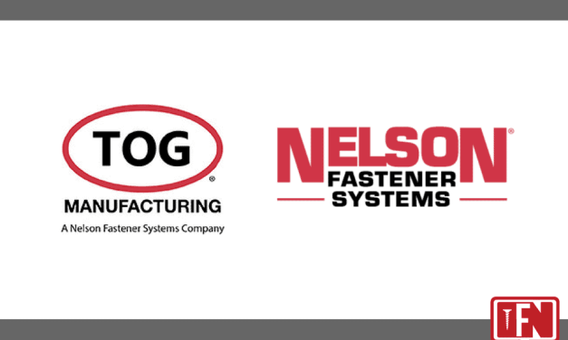 TOG® Manufacturing has joined the Nelson® Fastener Systems family of companies