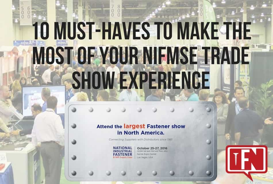 10 Must-Haves to Make the Most of Your NIFMSE Trade Show Experience