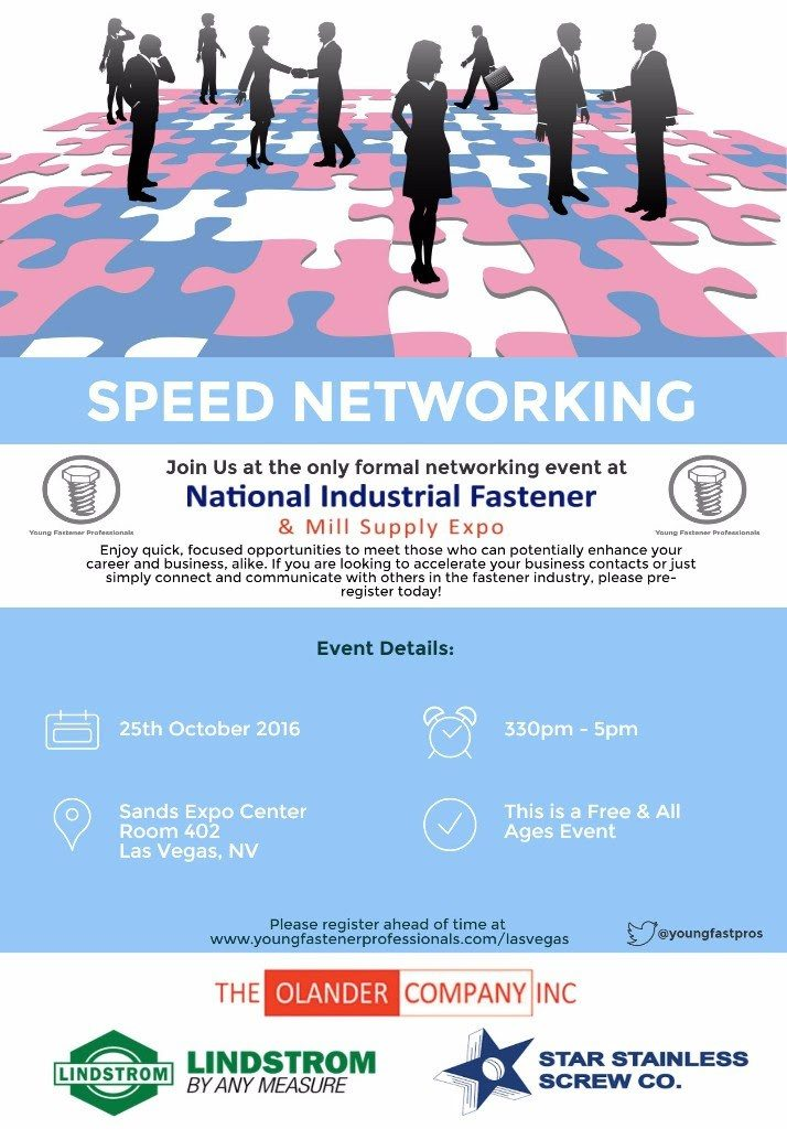 Speed Networking – Young Fastener Professionals
