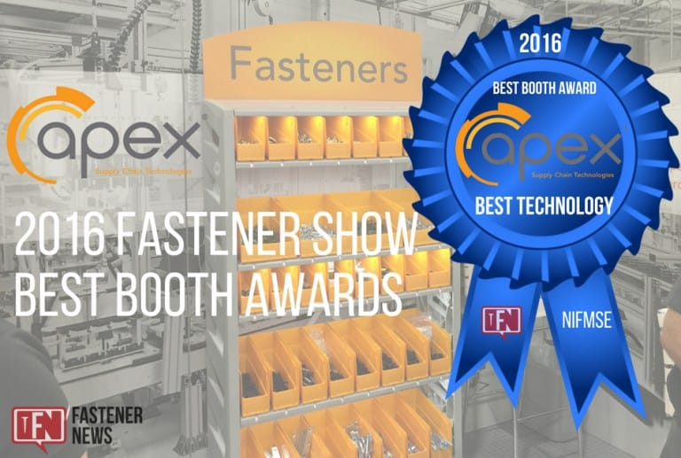Best Booth Awards: An Interview with Apex Supply Chain Technologies