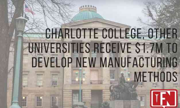 Charlotte College, Other Universities Receive $1.7M to Develop New Manufacturing Methods