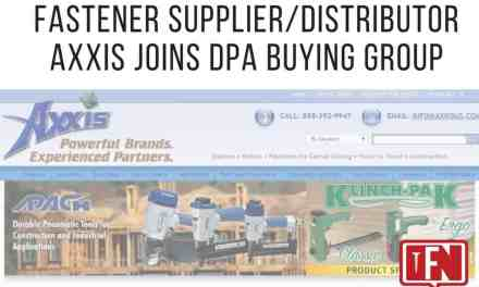 Fastener Supplier/Distributor Axxis Joins DPA Buying Group