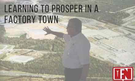 Learning to Prosper in a Factory Town