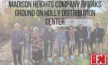Madison Heights Company Breaks Ground on Holly Distribution Center