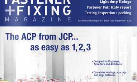 Fastener + Fixing, November 2016