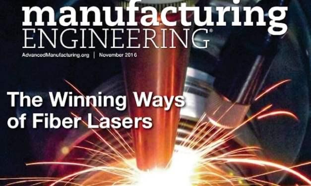 Manufacturing Engineering, November 2016