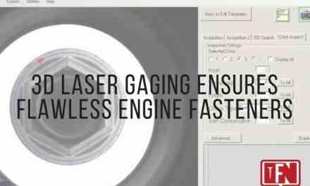 3D Laser Gaging Ensures Flawless Engine Fasteners