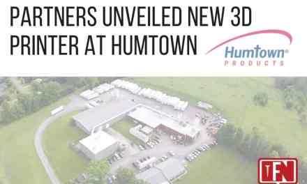 Partners Unveiled New 3D Printer at Humtown