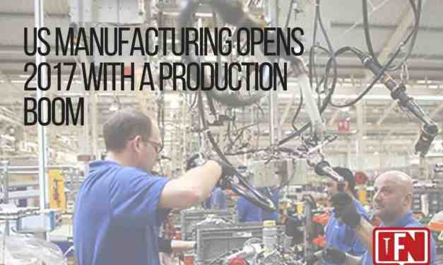 US Manufacturing Opens 2017 with a Production Boom