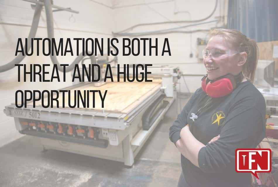 Automation is Both a Threat and a Huge Opportunity