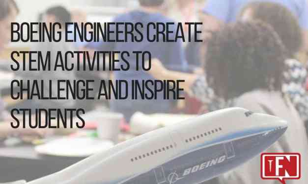 Boeing Engineers Create STEM Activities to Challenge and Inspire Students