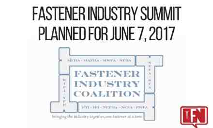 Fastener Industry Summit Planned for June 7, 2017