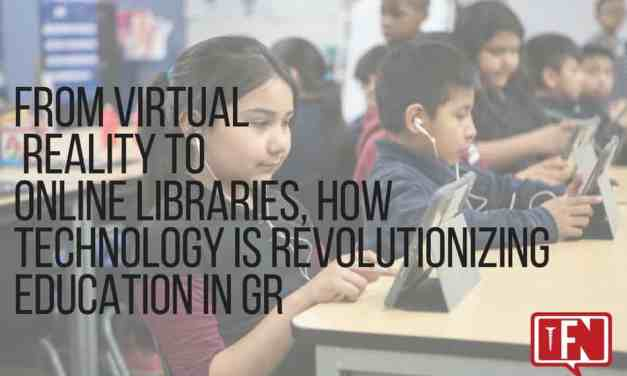 From Virtual Reality to Online Libraries, How Technology is Revolutionizing Education in GR