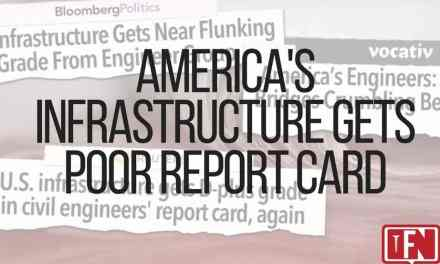America's Infrastructure Gets Poor Report Card