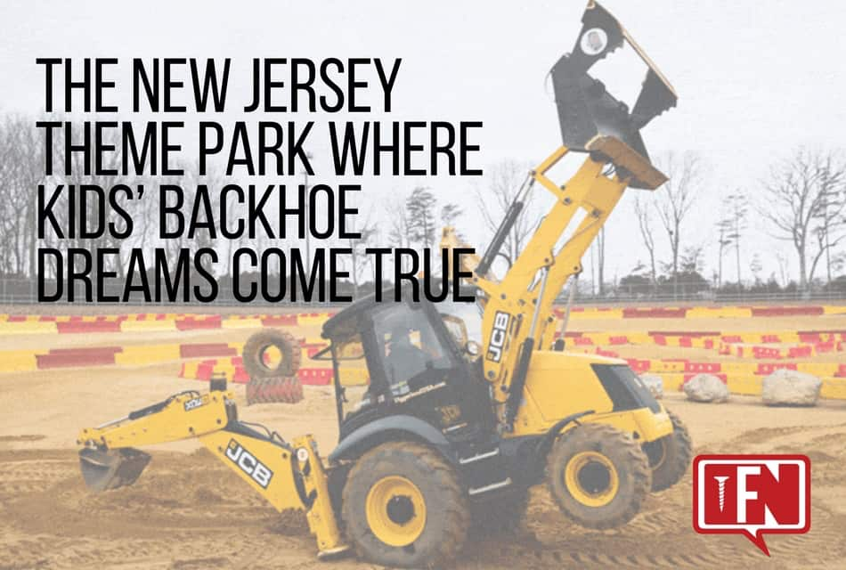 The New Jersey Theme Park Where Kids' Backhoe Dreams Come True