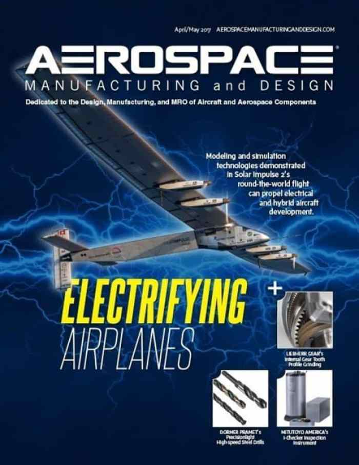 Aerospace Manufacturing and Design, April/May