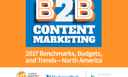 B2B Content Marketing 2017 Benchmarks, Budgets, and Trends—North America