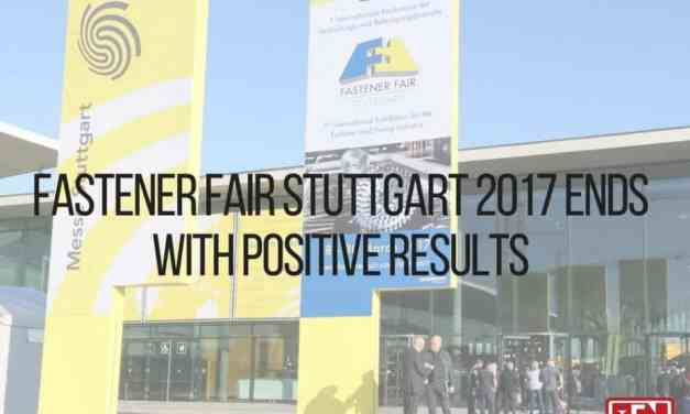 Fastener Fair Stuttgart 2017 Ends with Positive Results