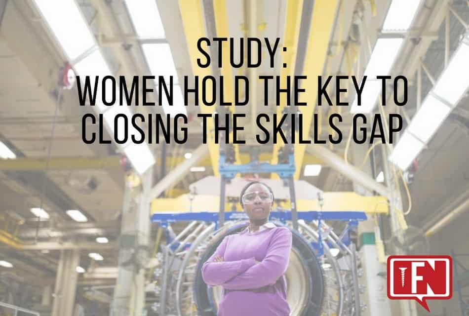 Study: Women Hold The Key To Closing The Skills Gap
