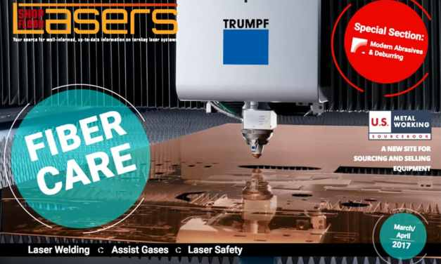 Shop Floor Lasers, March/April 2017