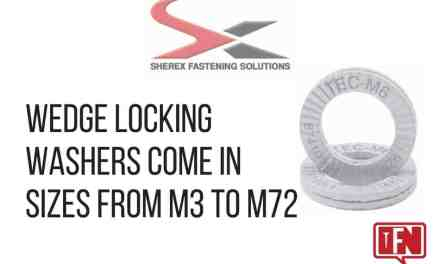 Wedge Locking Washers Come in Sizes from M3 to M72