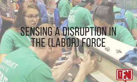 Sensing a Disruption in the (Labor) Force
