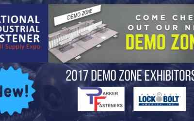 Fastener Show Introduces New DEMO ZONE for Vegas 2017!