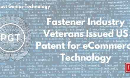 Fastener Industry Veterans Issued US Patent for eCommerce Technology