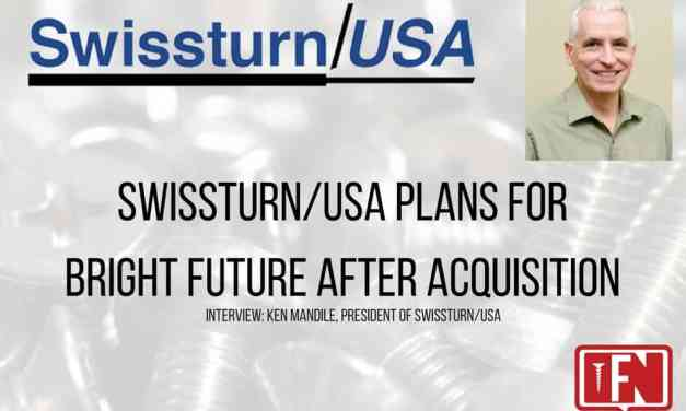 Swissturn/USA Plans For Bright Future After Acquisition