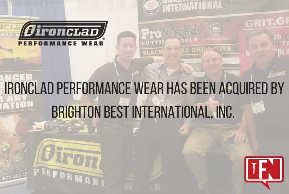 Brighton Best Acquires Ironclad Performance Wear