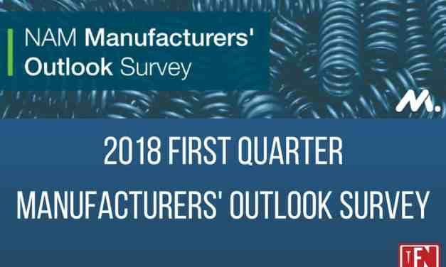 2018 First Quarter Manufacturers' Outlook Survey
