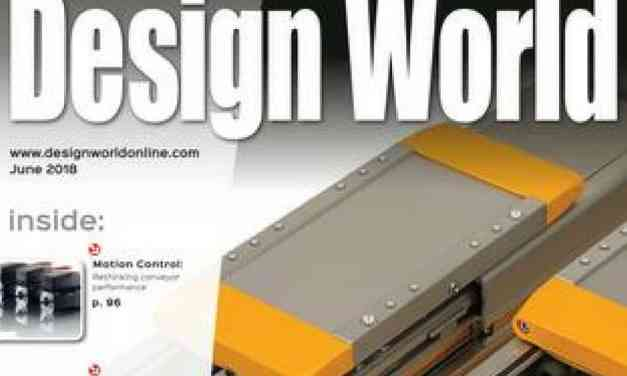 Design World Magazine, June 2018