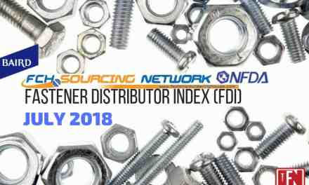 Fastener Distributor Index – July 2018