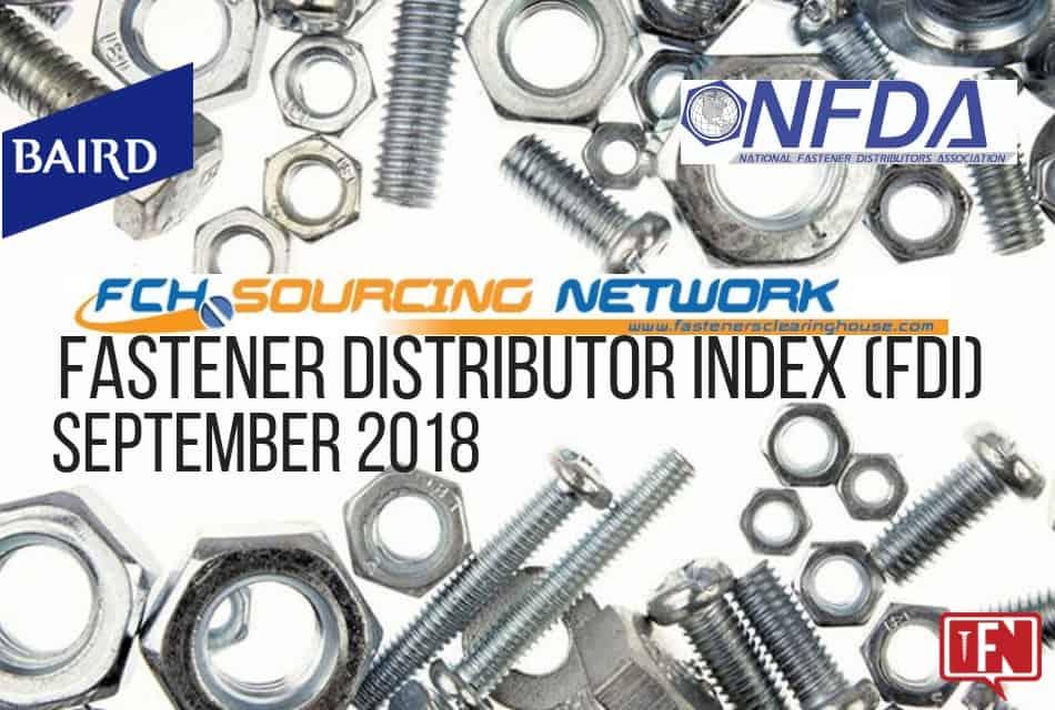 Fastener Distributor Index – September 2018