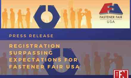 Registration Surpassing Expectations for Fastener Fair USA