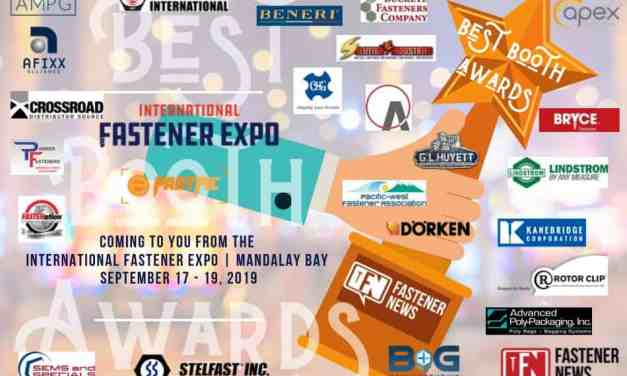 International Fastener Expo (IFE) Exhibitors, Are You Ready for the 2019 Best Booth Awards?