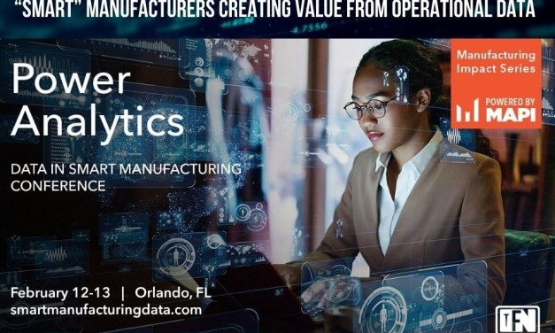 """Smart"" Manufacturers Creating Value from Operational Data"