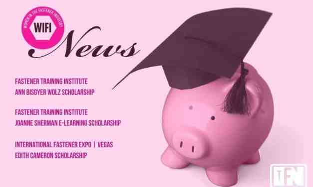 Women in the Fastener Industry (WIFI) Announce 2020 Scholarships